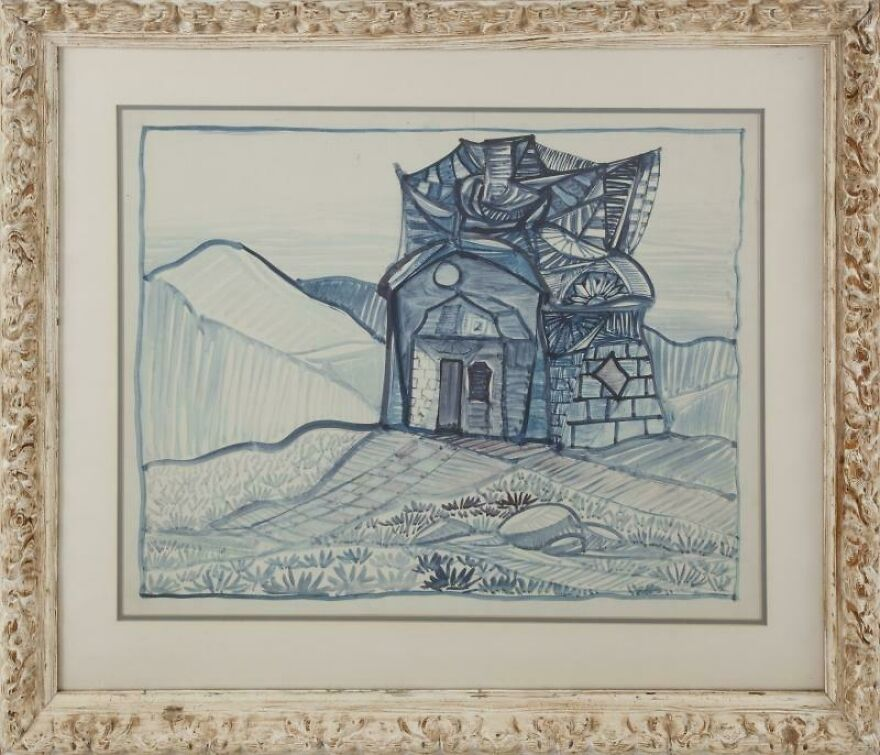 Drawing By Burt Shonberg From The Collection Of Ringo Starr
