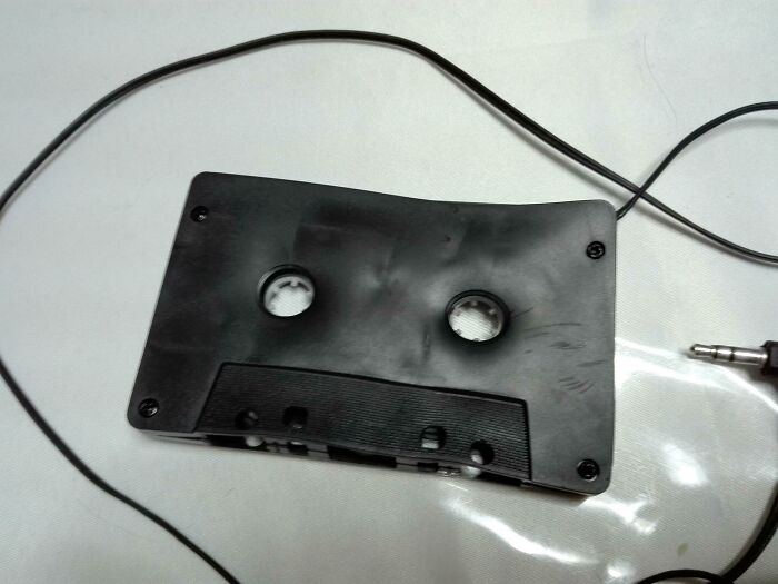 Left My Cassette Adapter In The Car In The Hot Sun. Result: Hottest Mixtape Of The Year