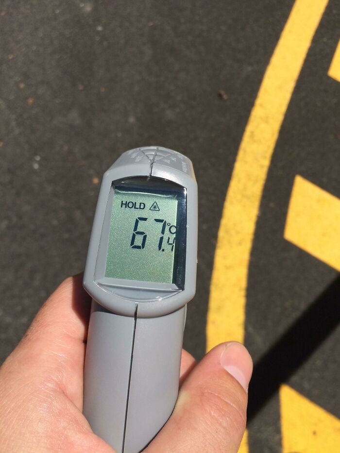 Ground Temp Thanks To Heatwave In Australia. 153.3F For You Other Guys
