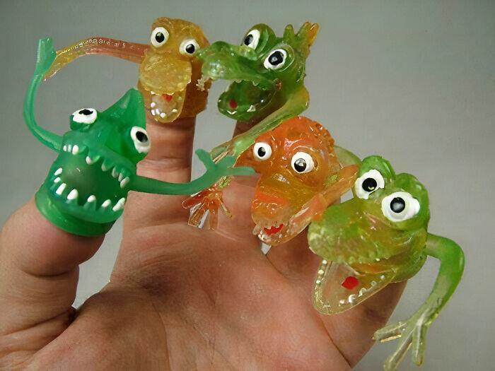 Monstruos para el dedo