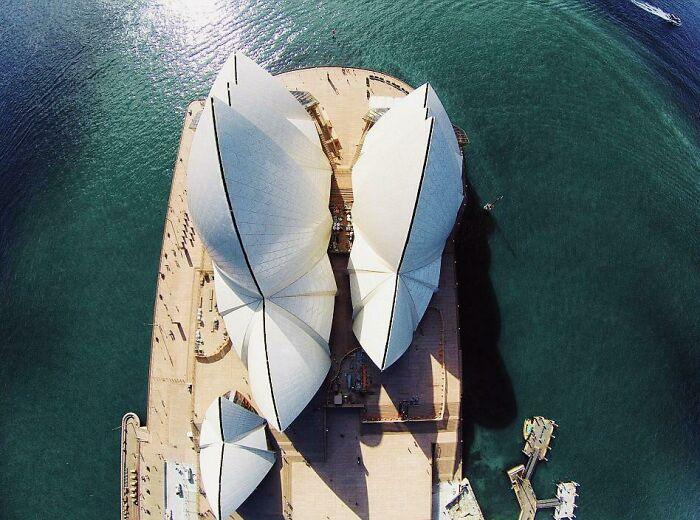 Sydney Opera House From Top