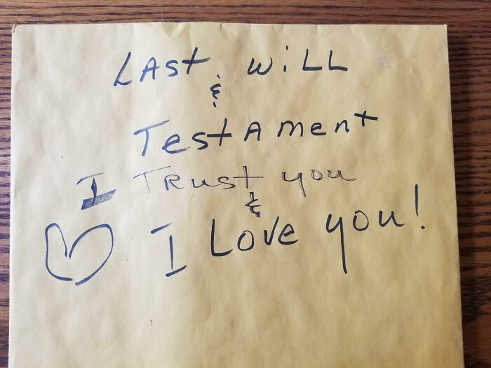 Lost My Mom Recently After Being Her Caretaker For 20+ Years. I Have Been Going Through Her House And She Has Left Me Notes All Over In Drawers And On Paperwork