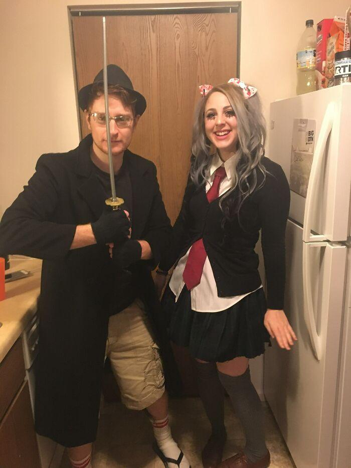 Mi novio y yo nos disfrazamos de un neckbeard y su waifu para Halloween