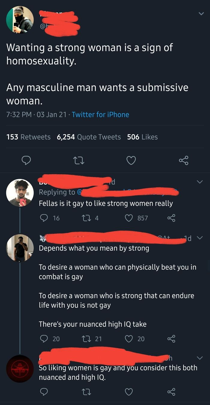 """If You Want A """"Strong"""" Woman, You're Gay!"""