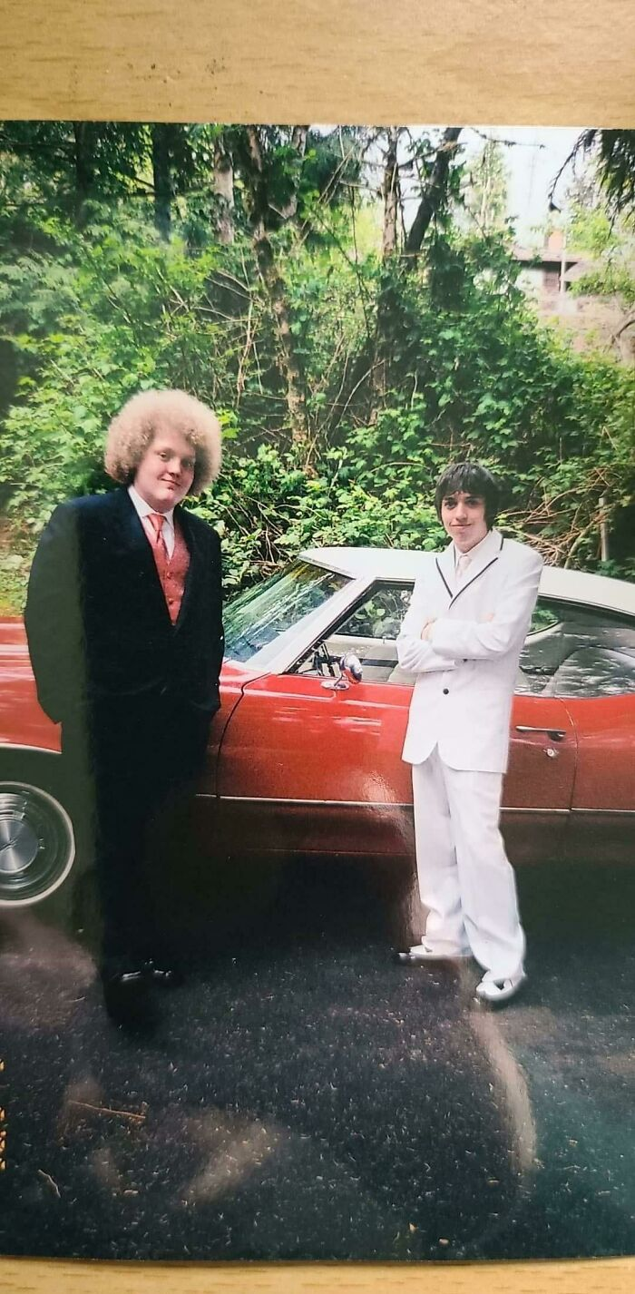 My Husband (Right) And His Brother (Left). Prom 2006