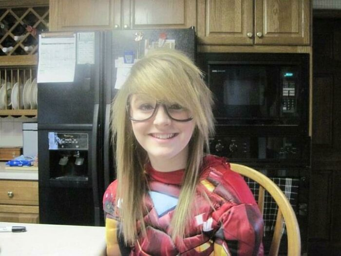 Circa 2010. No It Was No Halloween. I Was Going To The Airport. Yes The Iron Man Triangle Lit Up