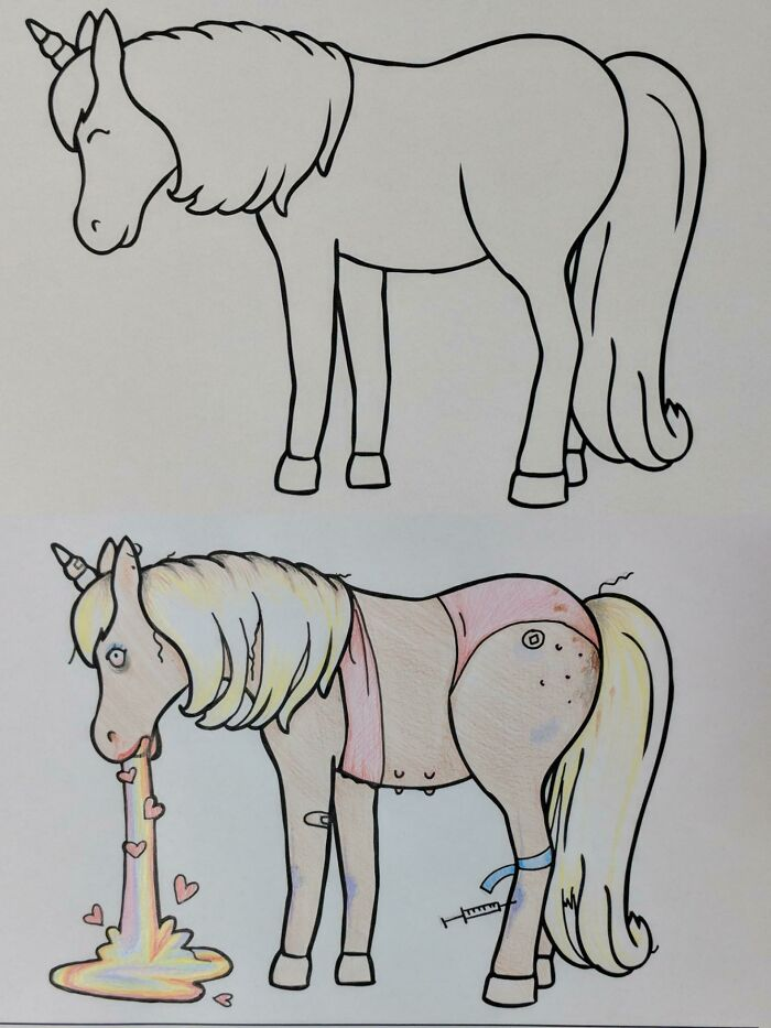Always Wanted To Do One If These, Meet Eunice The Crack Whorse