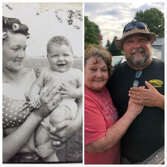My Grandma And Dad 1966 And 2020
