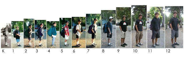 My Son's First Days Of School, K-12