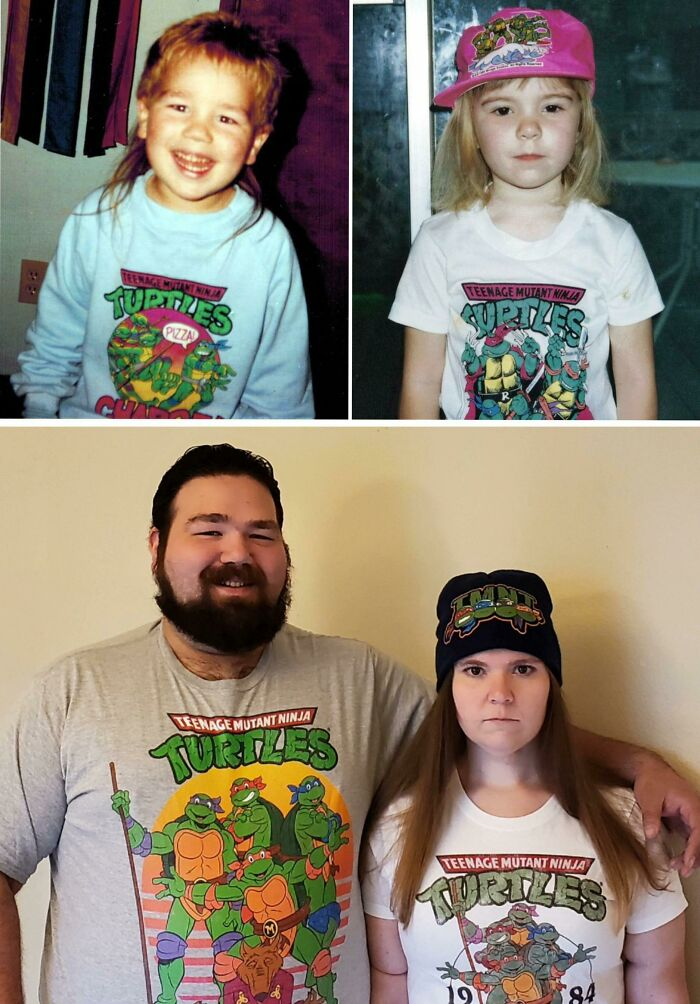 My Boyfriend And I Discovered We Had Matching Photos As Ninja Turtles-Obsessed Preschoolers. We Knew What Had To Happen Next.