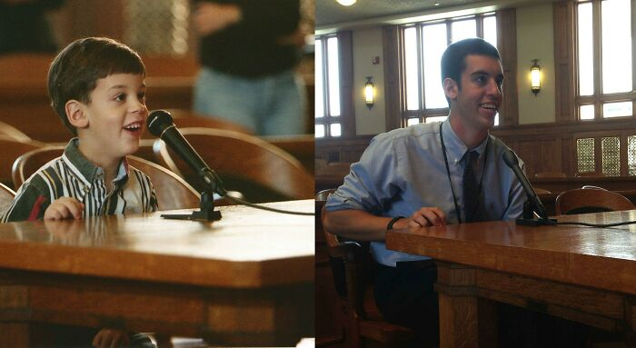 I Came To This Courtroom With My Class In Kindergarten. Today, 14 Years Later, I Finished My Internship With The Judge In The Same Courtroom.