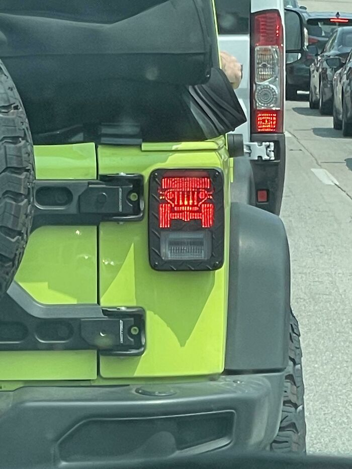 This Jeep's Break Lights Are Jeeps