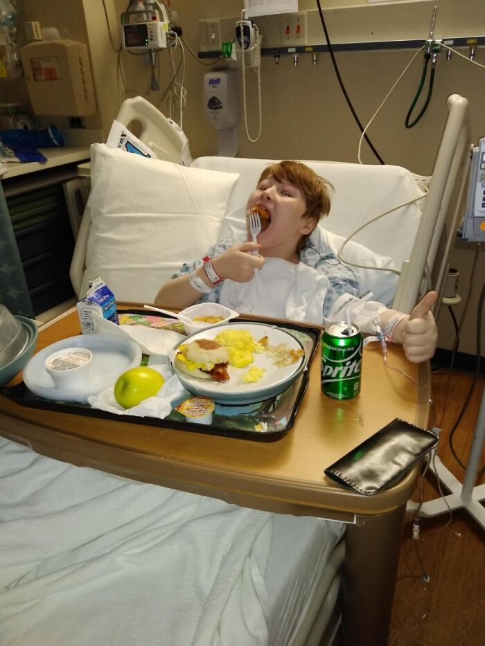 My Little Brother Had His Appendix Removed On His 11th Birthday