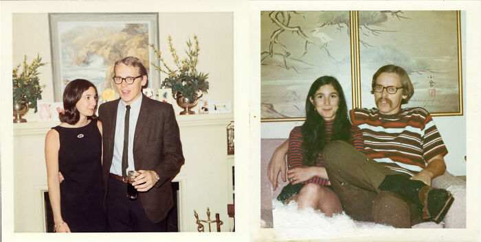 The 70s Transition: My Parents In 1968 And Again In 1970
