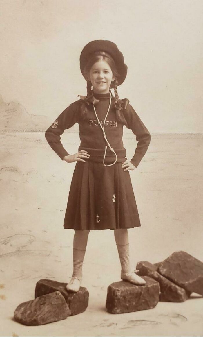 My Great Grandmother In The Early 1900's. Thought She Looked Too Awesome Not To Share