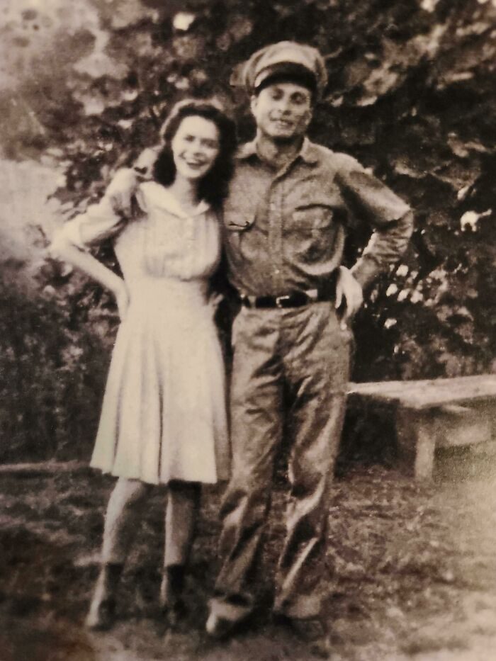 Grandma And Papa In 1937. She Passed Away Today At 100 Years Old