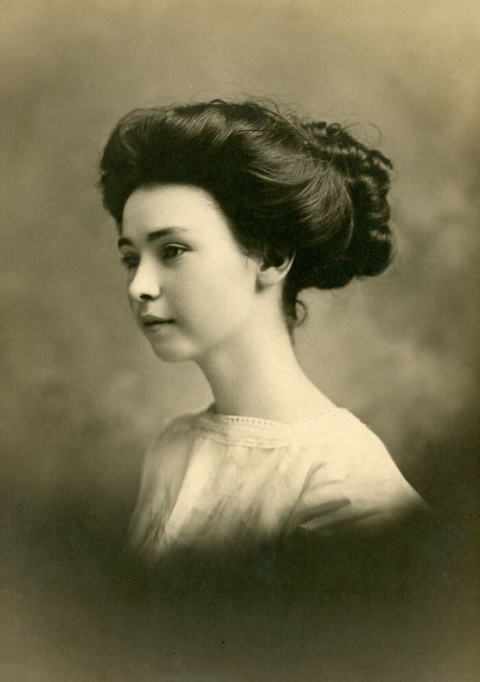 My Great-Great-Grandmother Sometime In The 1890s