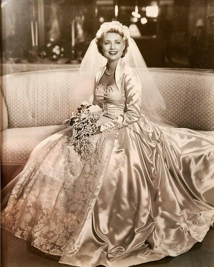 My Mom On Her Wedding Day November 1951