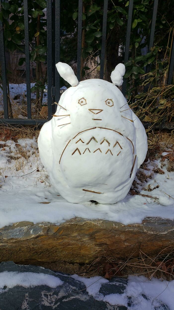 Found Totoro On The Side Of The Road