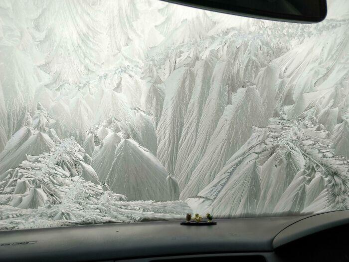 My Frozen Windscreen