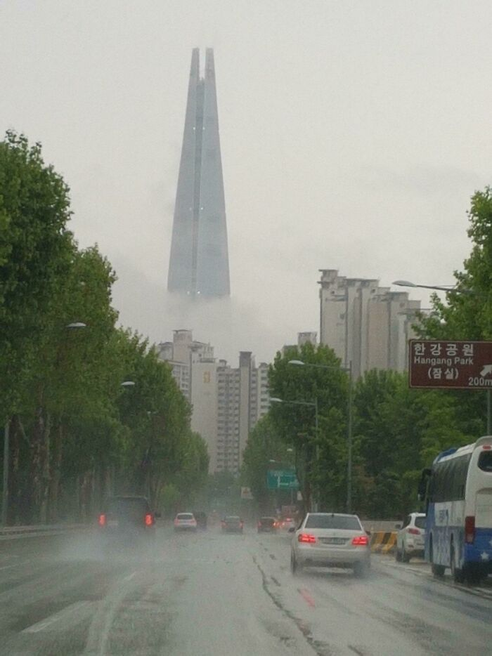 They Have A Sauron's Tower In Seoul