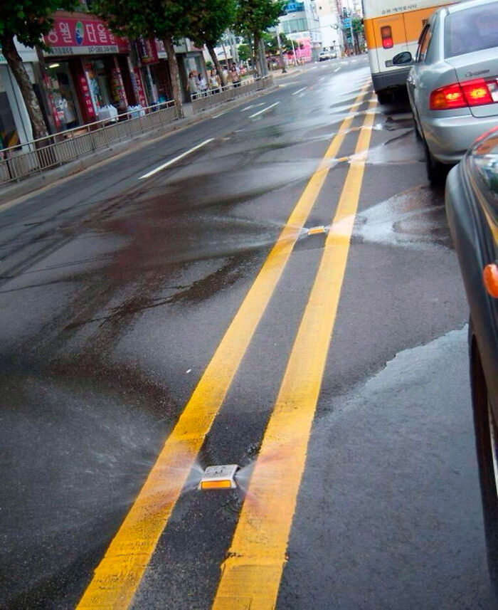 Self Cleaning Roads In South Korea
