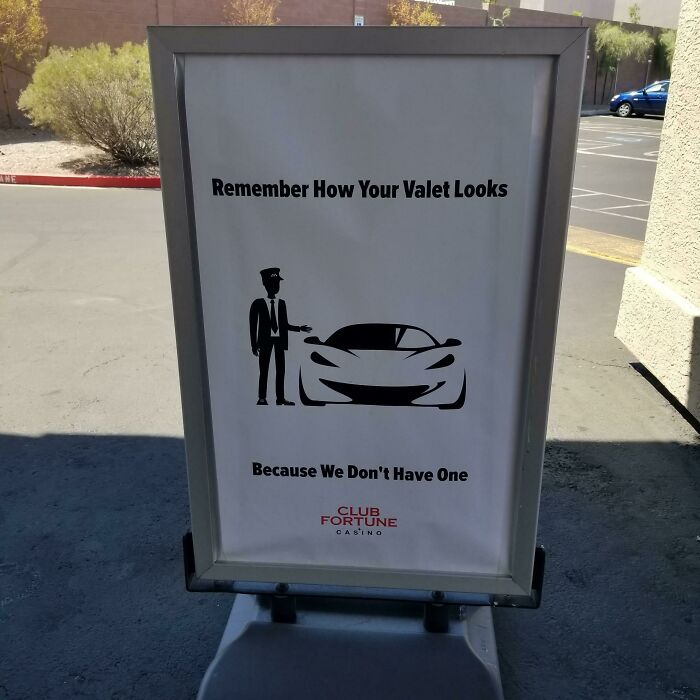 A Sign Outside An Off Strip Casino In Las Vegas