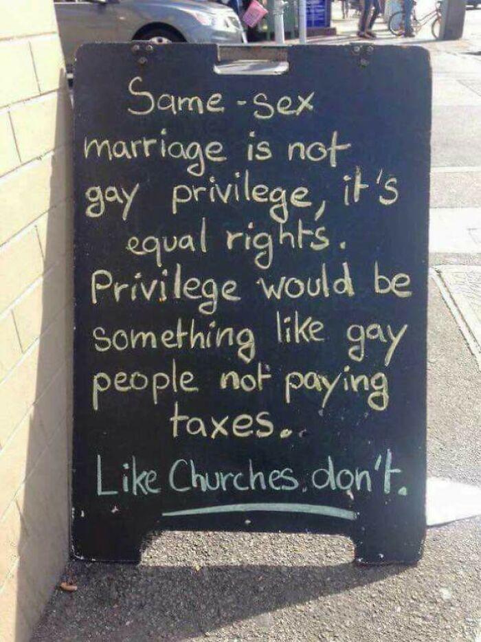 The Same Sex Marriage Debate In A Nutshell