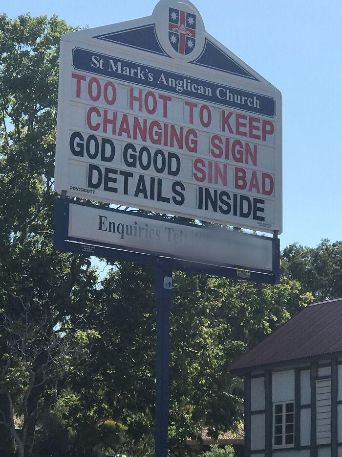 Too Hot For Jesus In Queensland!