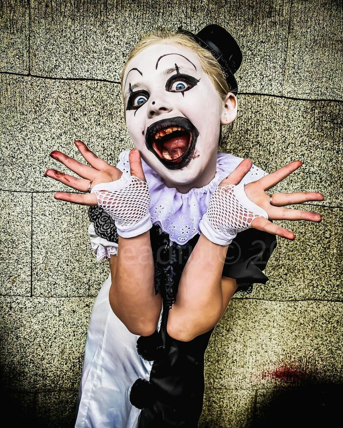 7 Year Old Girl Makes The Most Amazing Horror Movie Cosplays