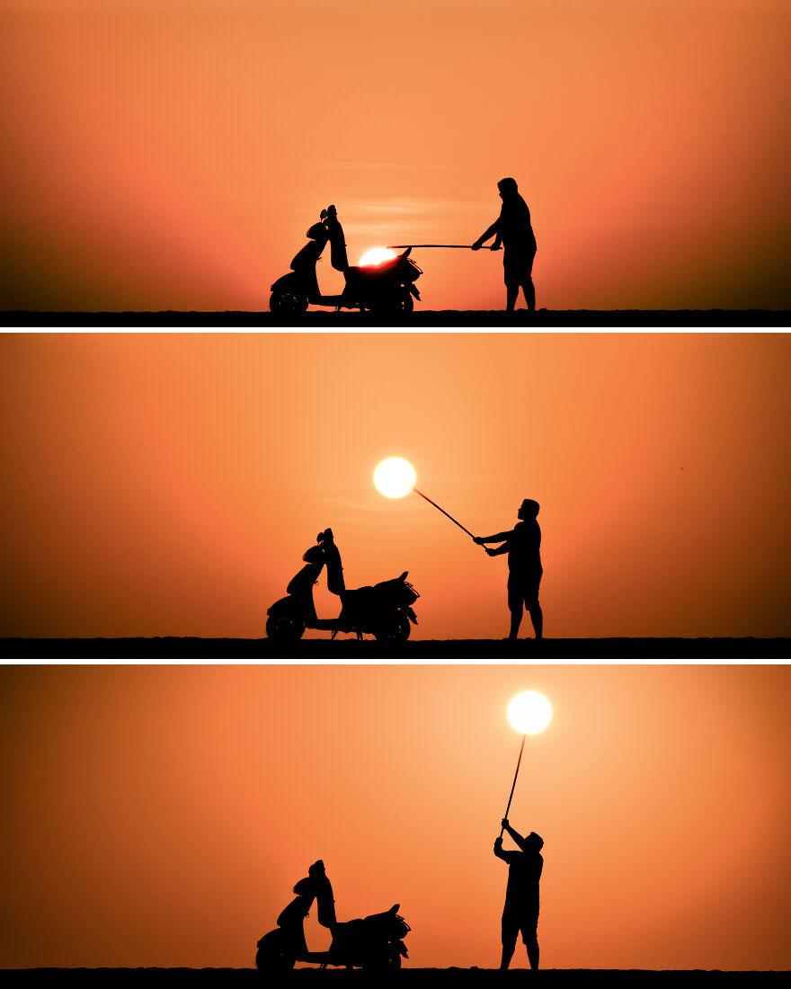 Unloading The Sun