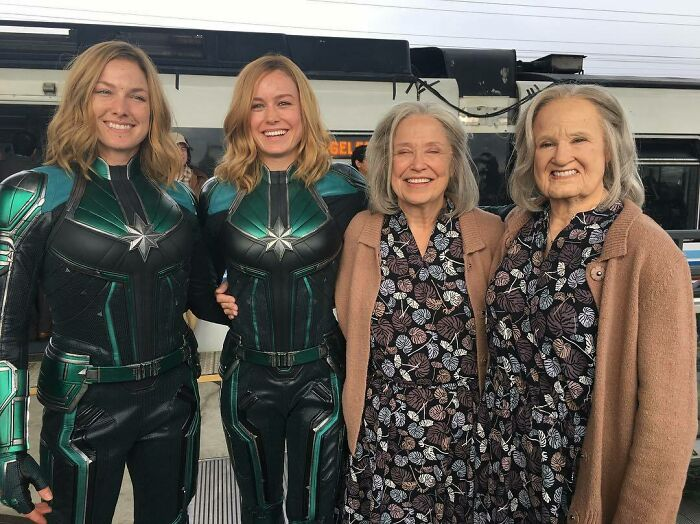 Thank You For Allowing Me To Be A Part Of This Amazing Action Ensemble. I Got To Double The Lovely Marilyn And Fight Brie Larson