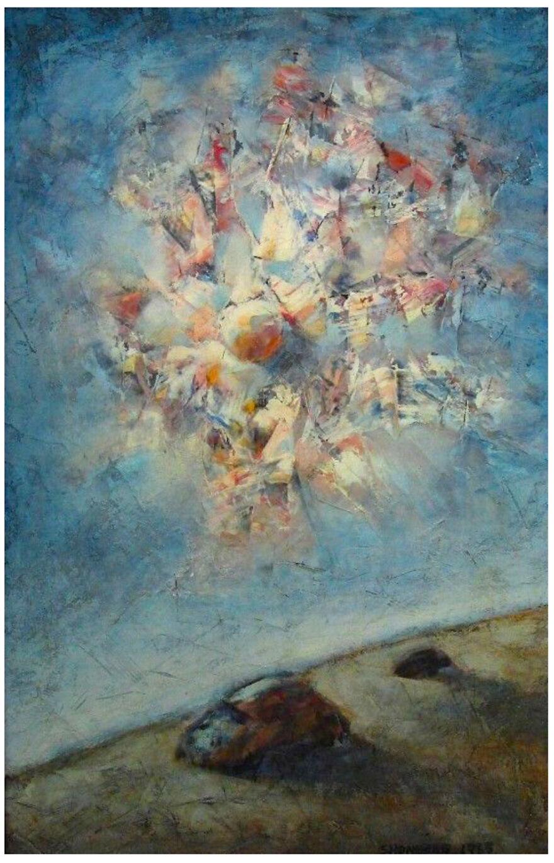 Burt Shonberg Painting Circa 1965
