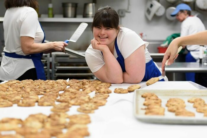 Woman With Down Syndrome Opens Her Own Bakery After Getting Rejected From Every Bakery She Applied To