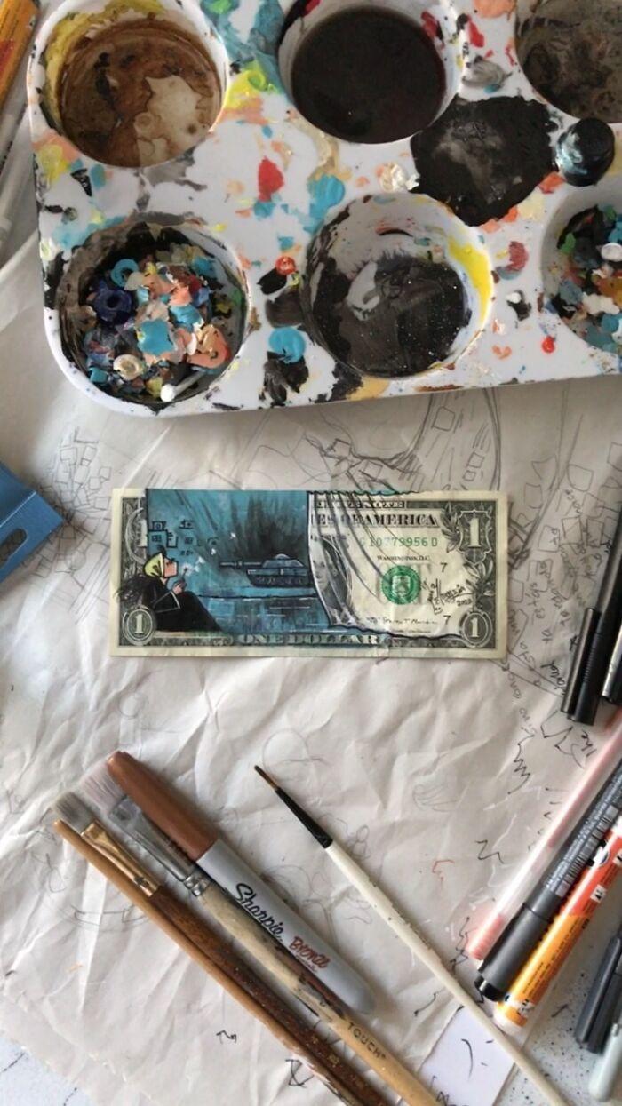 The 3rd World/ جهان سوم #makeawish #war #fear #hope #wish #warzone #painting #art #artwork #artstudio #artist #artistsoninstagram #instagram