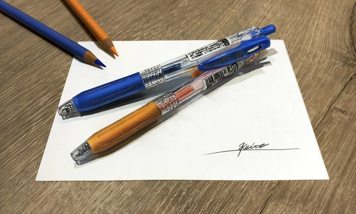 Artist Materializes Everyday Objects And Transforms Them Into Incredible 3D Drawings (29 Pics)