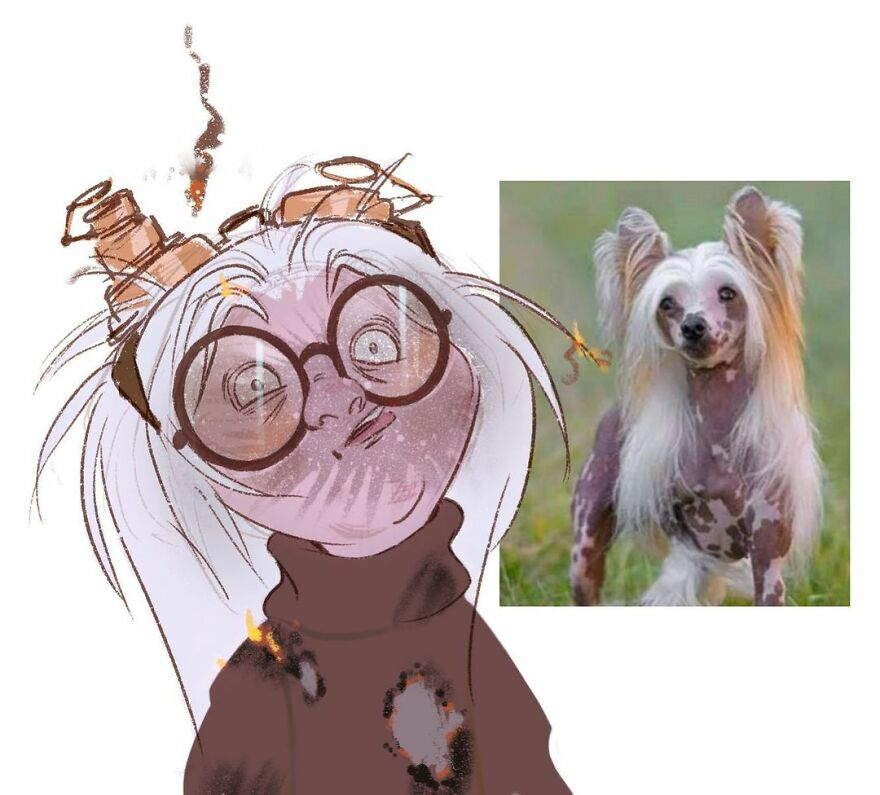 Famous Humanized Cartoon Characters By Shannon Lee