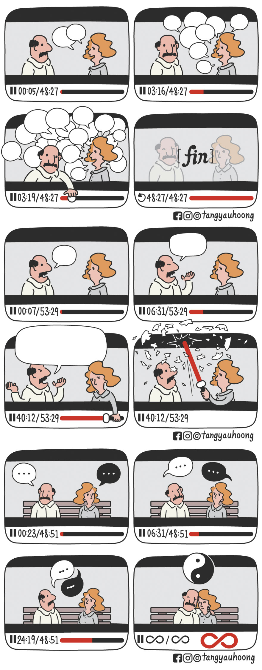 I Drew 23 Comics To Show How Unexpected Surprises Happen When We Look At Things Differently.