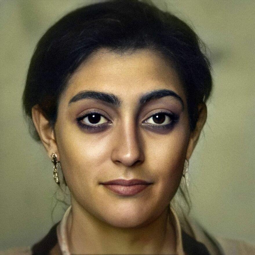 Fayum Mummy Portrait (New Version)