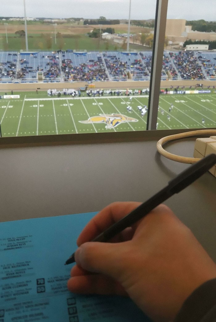 It's Cold Outside And I Was Tired Of Standing. Found A Pen And Paper And Now I'm With Stats And Press