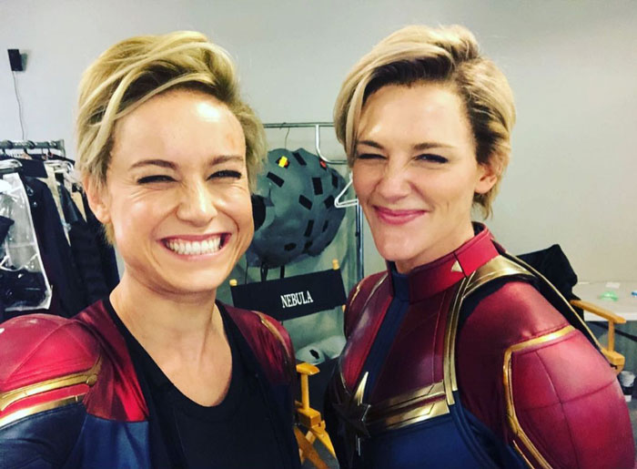 It's Been Fun Hangin With This Lady Brie Larson