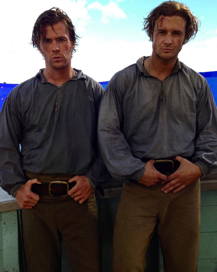 Chris Hemsworth's Stunt Double In In The Heart Of The Sea