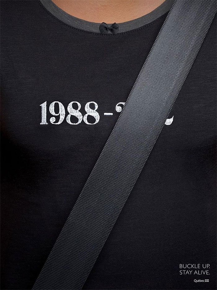 Awareness Ad For Seatbelts, Canada