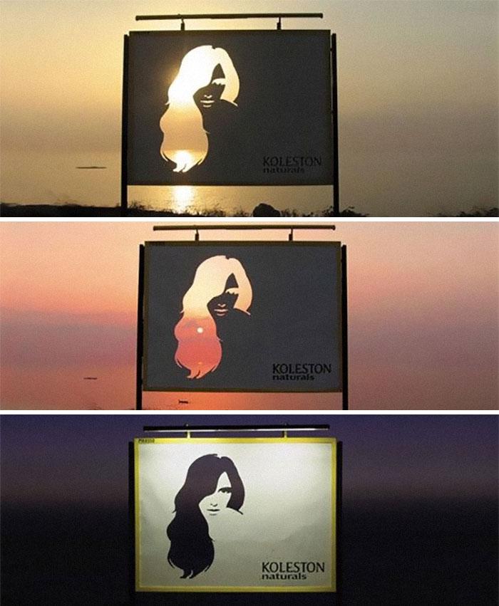 Multi Coloured Hair Ad