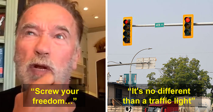 Arnold Schwarzenegger Shuts Down Anti-Maskers With This Analogy, Explains What 'Real Freedom' Is