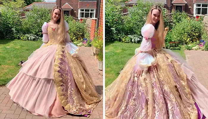 Dress From Barbie As Rapunzel