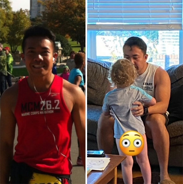 From Running Marathons To Running After A Half-Naked Toddler Before He Pees Everywhere