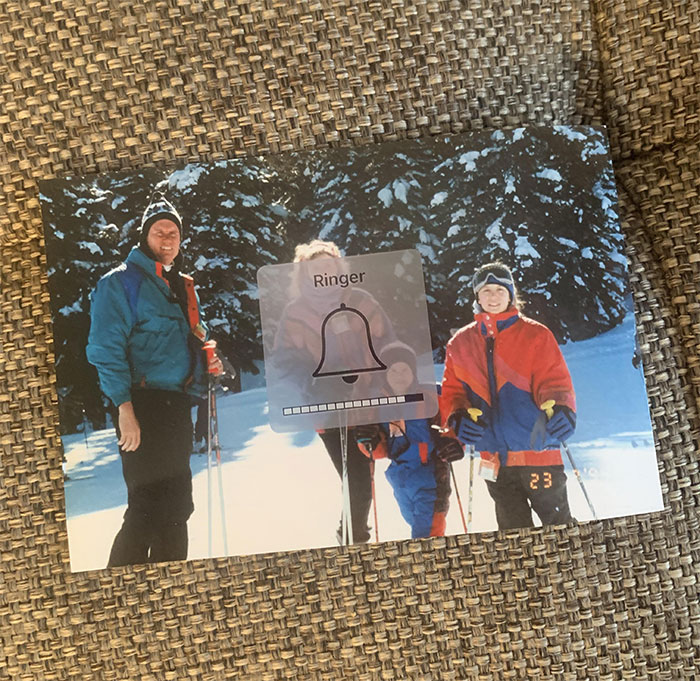 Mi padre me regaló esta foto por Navidad