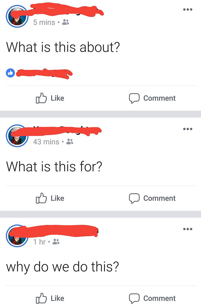 My Grandmother Had Some Kind Of Existential Facebook Crisis This Afternoon