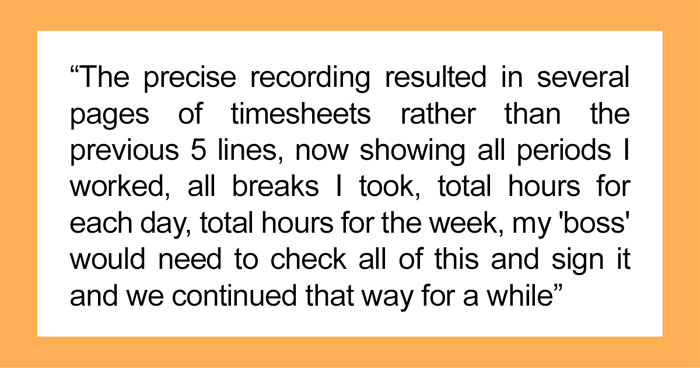 Freelancer Maliciously Complies To Company Timesheet Policy, Ends Up Getting Bigger Pay Than Expected